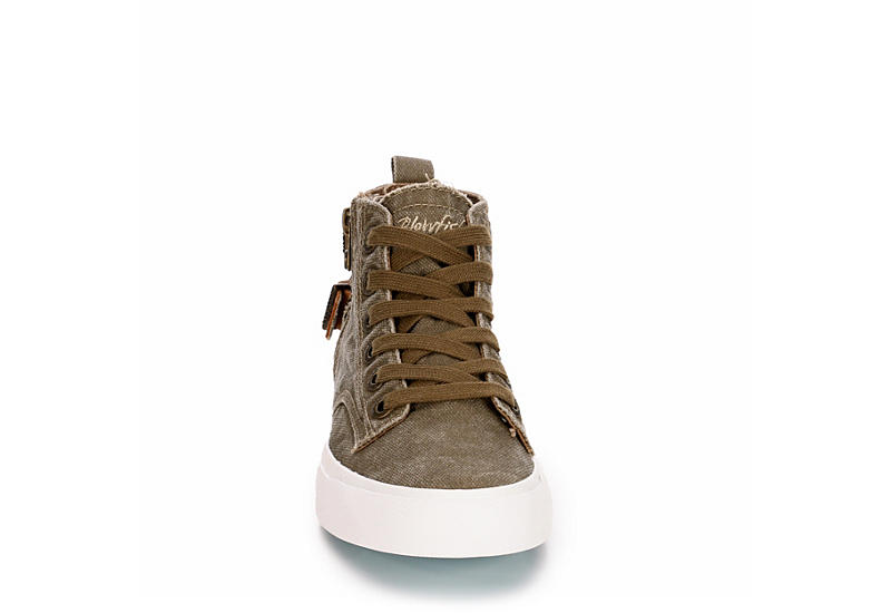 BLOWFISH Womens Moxie High Top Sneaker - TAUPE