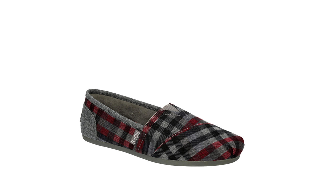 SKECHERS BOBS Womens Country Side Flat - GREY