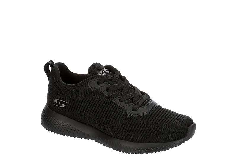 SKECHERS BOBS Womens Squad Tough Talk - BLACK