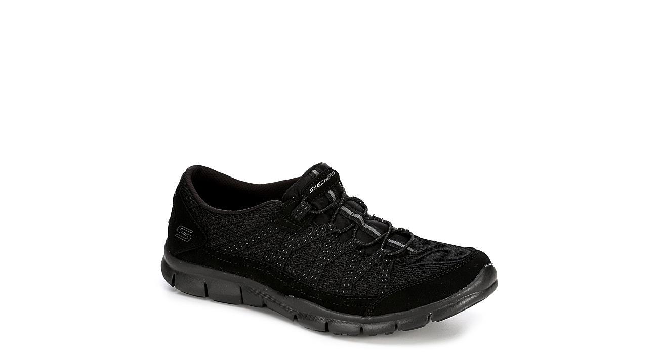 Skechers Sport-Active Womens Strolling Mesh Sneaker - BLACK