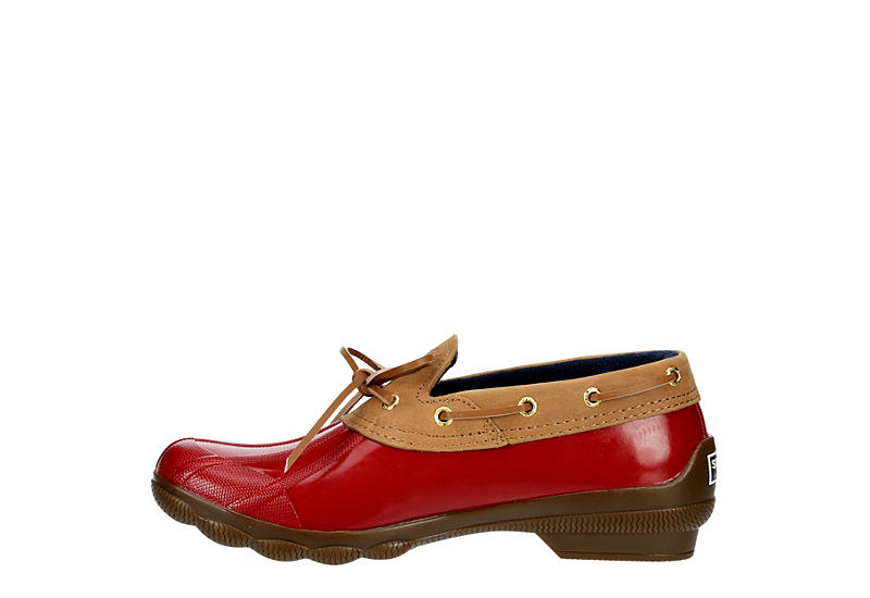 SPERRY Womens Syren One-eye Duck Shoe - RED