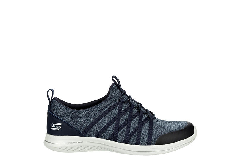 Skechers Sport-Active Womens What A Vision Slip On Sneaker - NAVY