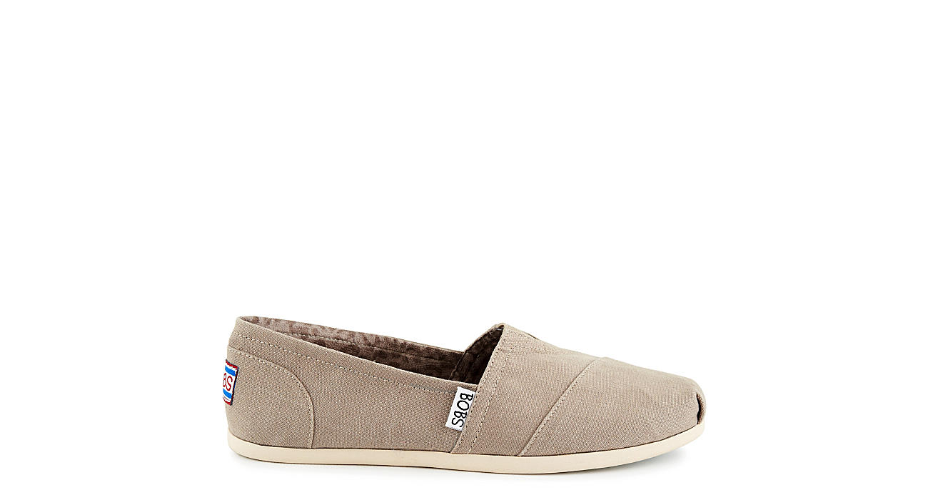 SKECHERS BOBS Womens Plush Peace And Love - TAUPE