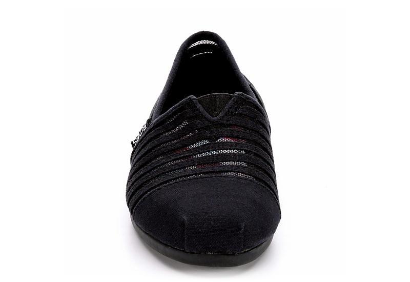 SKECHERS BOBS Womens Plush Adorbs - BLACK