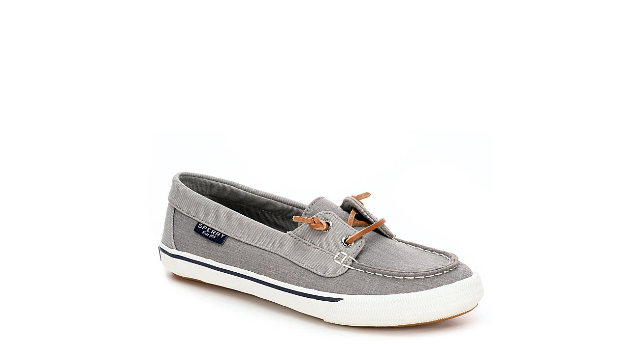 SPERRY Womens Lounge Away Boat Shoe - GREY