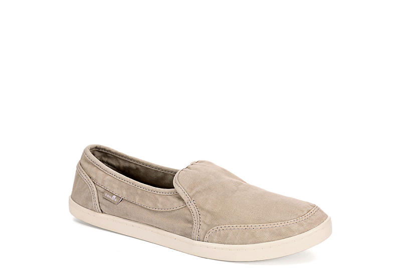 Pair O Dice Leather Slip-On Shoes