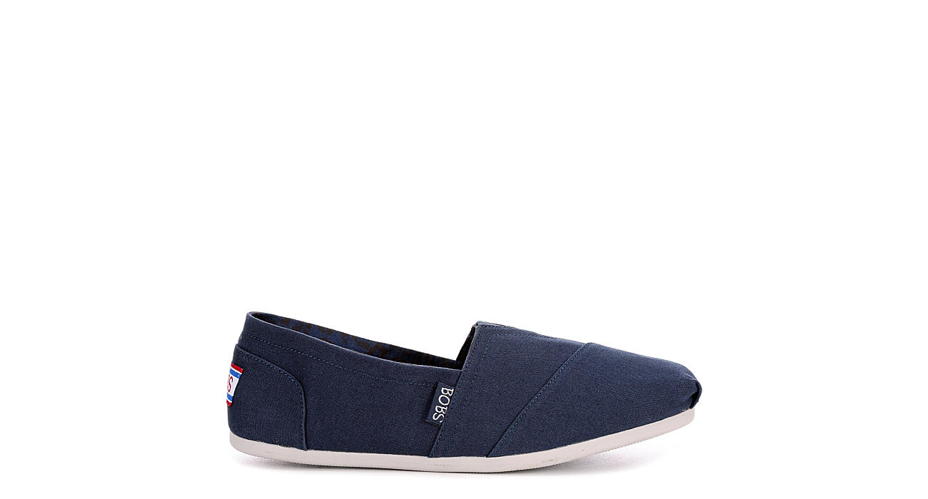 SKECHERS BOBS Womens Plush Peace And Love - NAVY