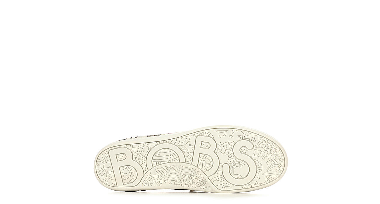 SKECHERS BOBS Womens House Party Slip On Sneaker - TAUPE
