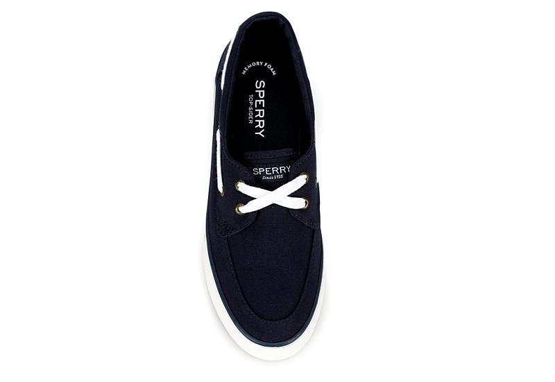 SPERRY Womens Pier Boat - NAVY