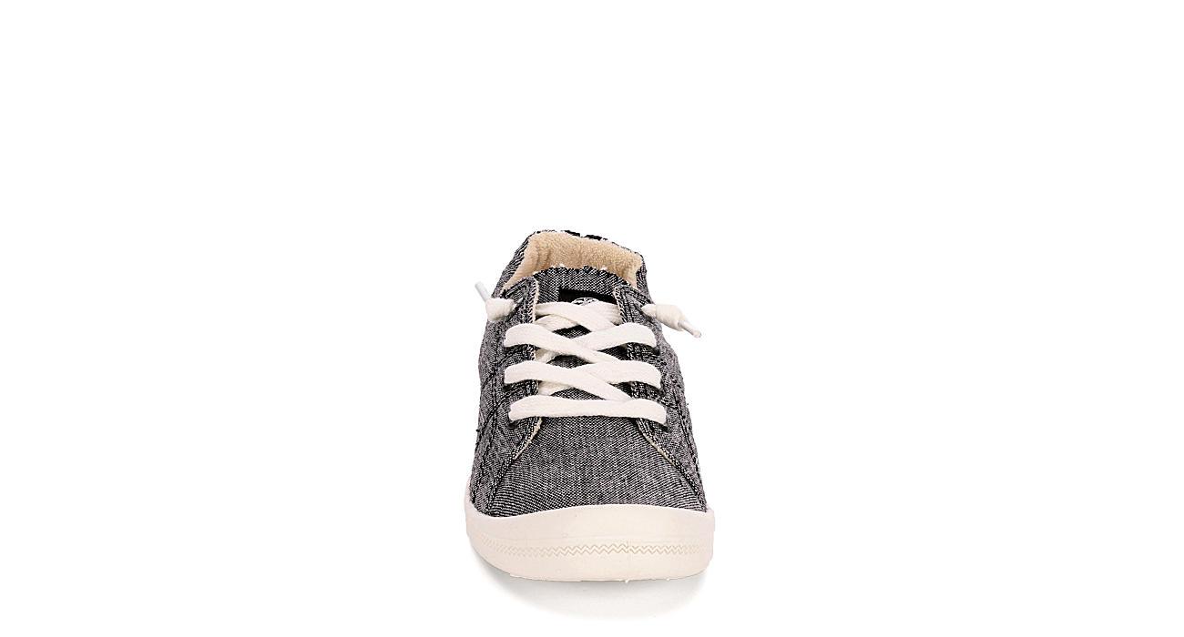 ROXY Womens Bayshore Slip On Sneaker - BLACK