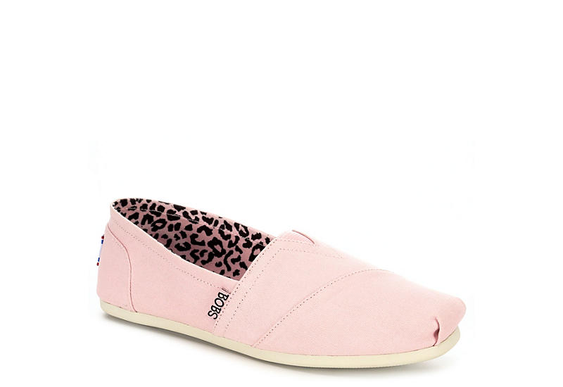 Pink Skechers Bobs Peace and Love Women s Flats  87f597403