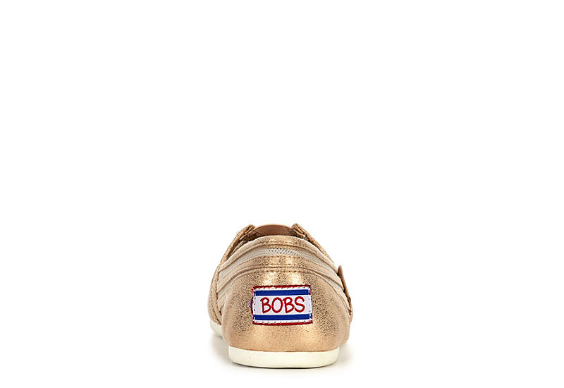SKECHERS BOBS Womens Plush Obsessed - CHAMPAGNE