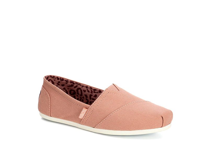 SKECHERS BOBS Womens Plush Peace And Love - BLUSH