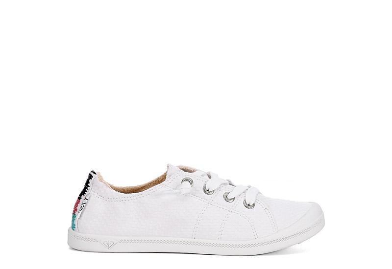 ROXY Womens Bayshore Slip On Sneaker - WHITE