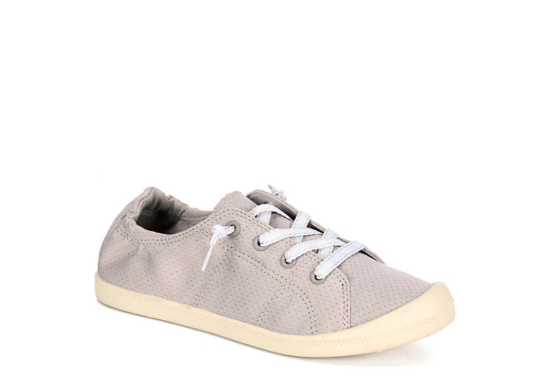 MADDEN GIRL Womens Bailey Perf - PALE GREY