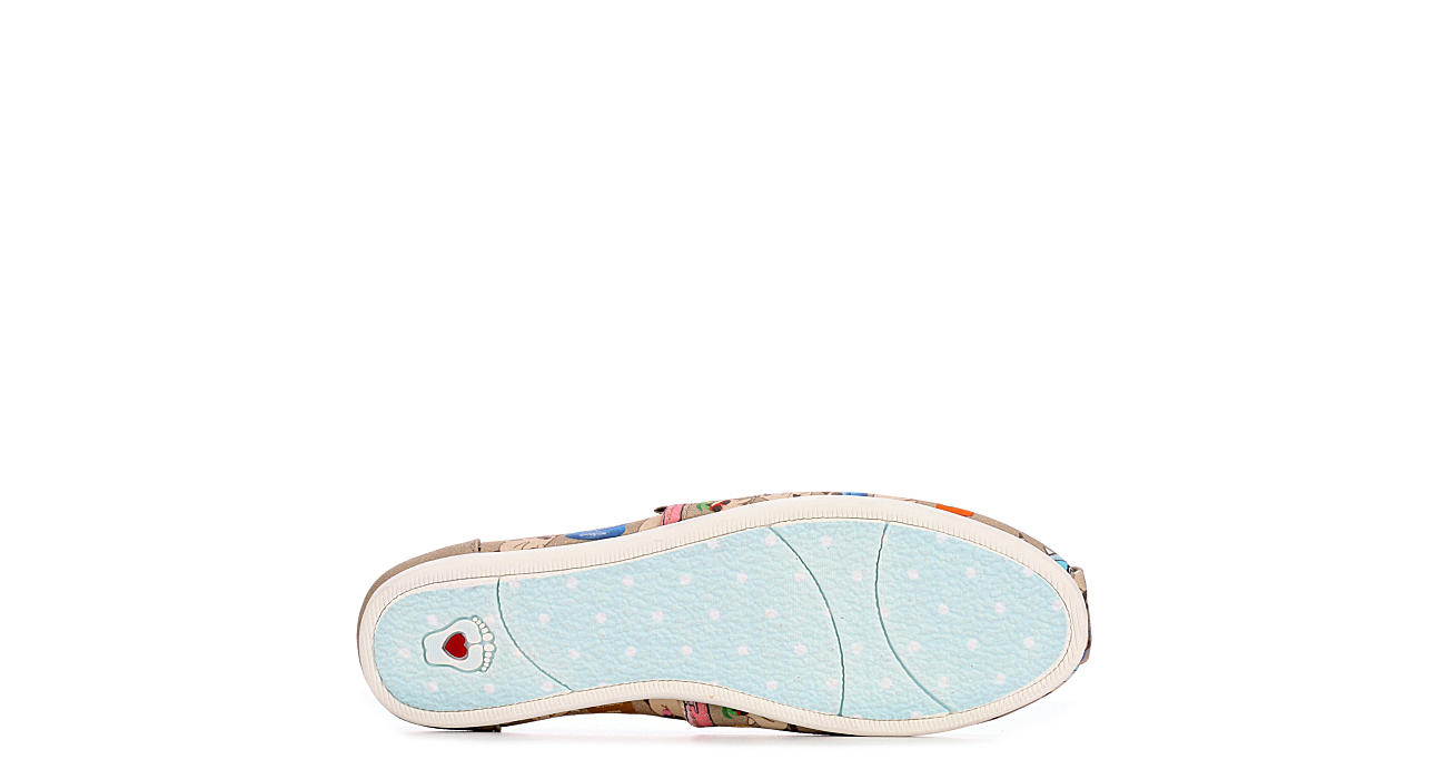 SKECHERS BOBS Womens Plush Vacation Grumpy - NATURAL