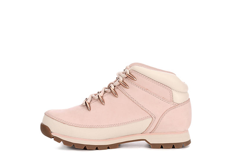 TIMBERLAND Womens Euro Hiker Boot - PALE PINK