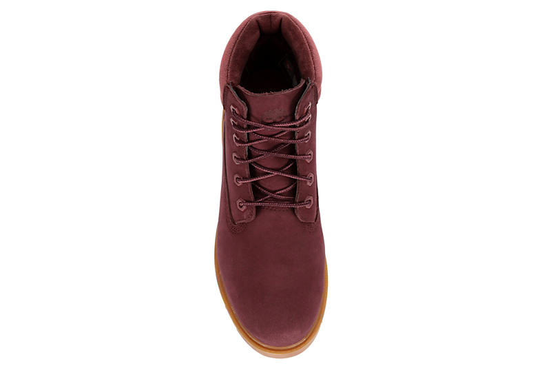 TIMBERLAND Womens Linden Woods Lace-up Boot - BURGUNDY