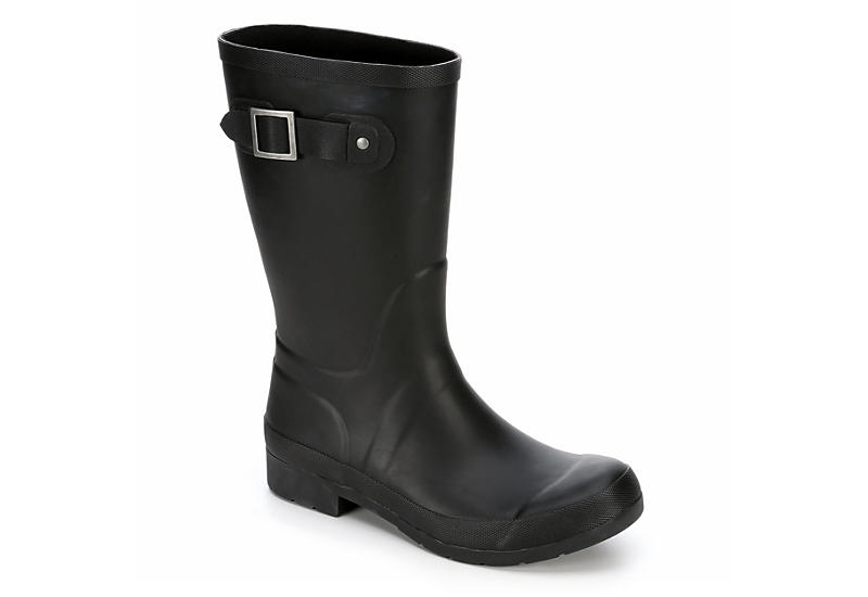 CHOOKA Womens Eastlake Mid Rain Boot - BLACK