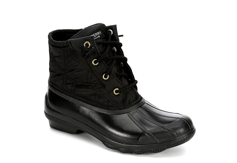 SPERRY Womens Syren Gulf Duck Boot - BLACK