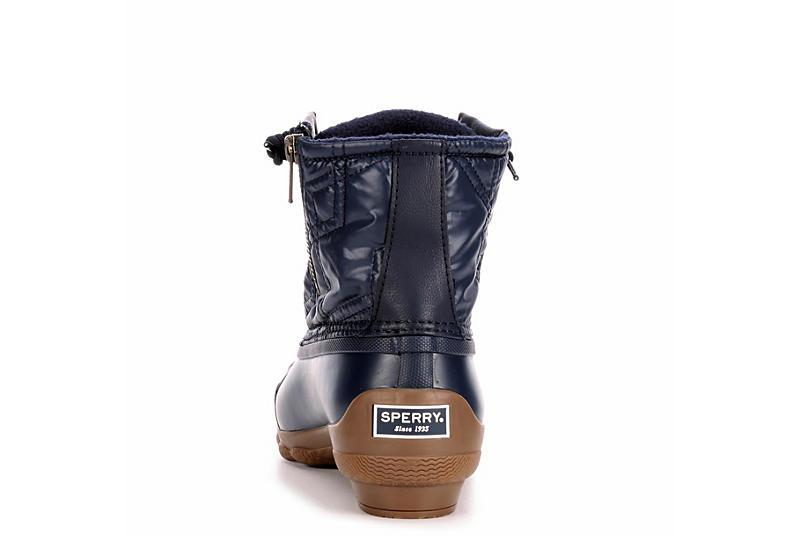 SPERRY Womens Syren Gulf Duck Boot - NAVY