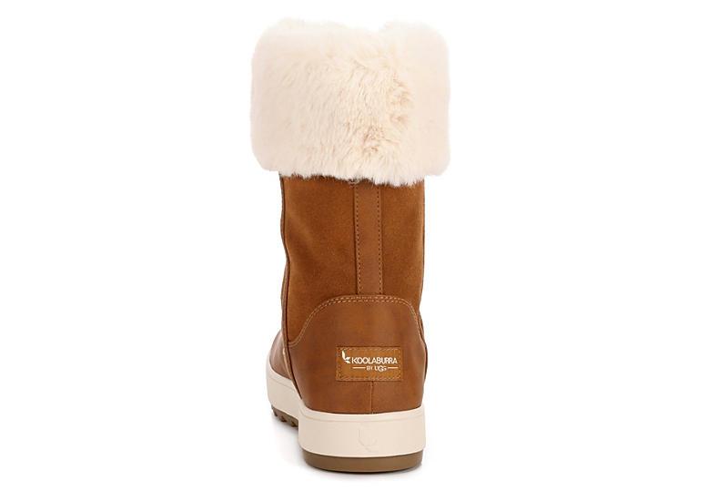 KOOLABURRA by UGG Womens Tynlee Fur Boot - RUST