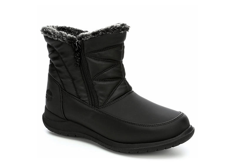 TOTES Womens Eileen Snow Boot - BLACK