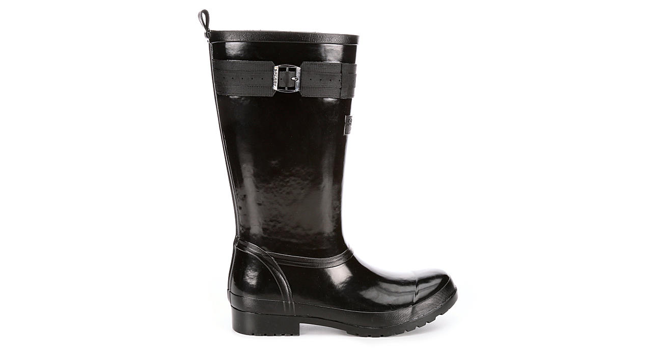 SPERRY Womens Walker Atlantic Rain Boot - BLACK