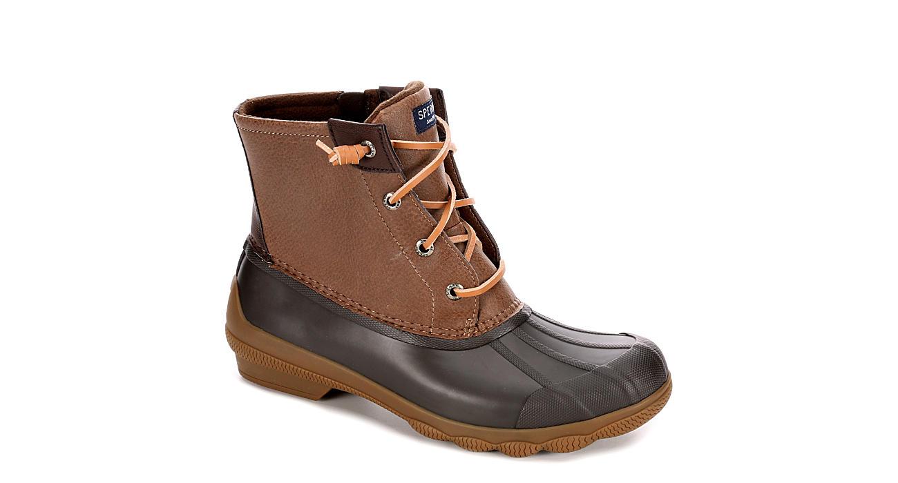 SPERRY Womens Syren Gulf Duck Boot - BROWN