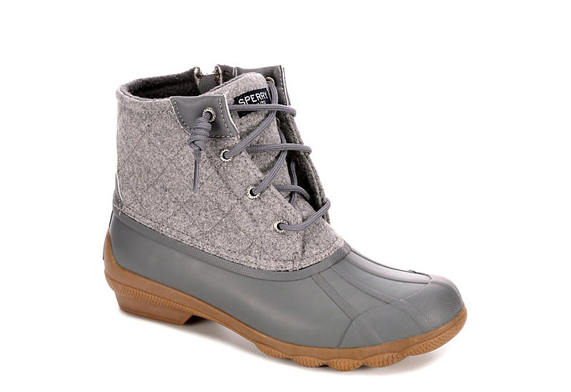 cf2c6b3de32c6 Grey Sperry Syren Gulf Women's Duck Boots | Rack Room Shoes
