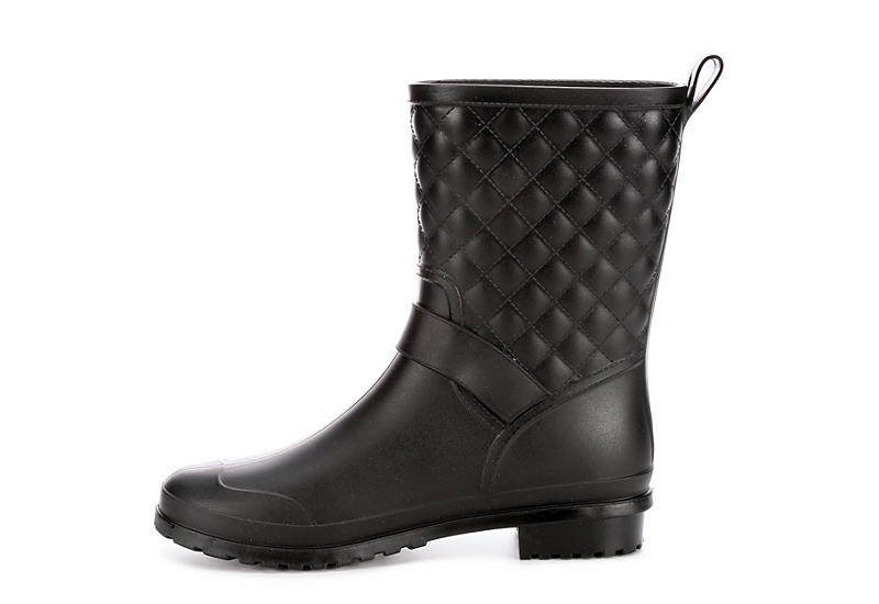 CAPELLI Womens Quilted - BLACK