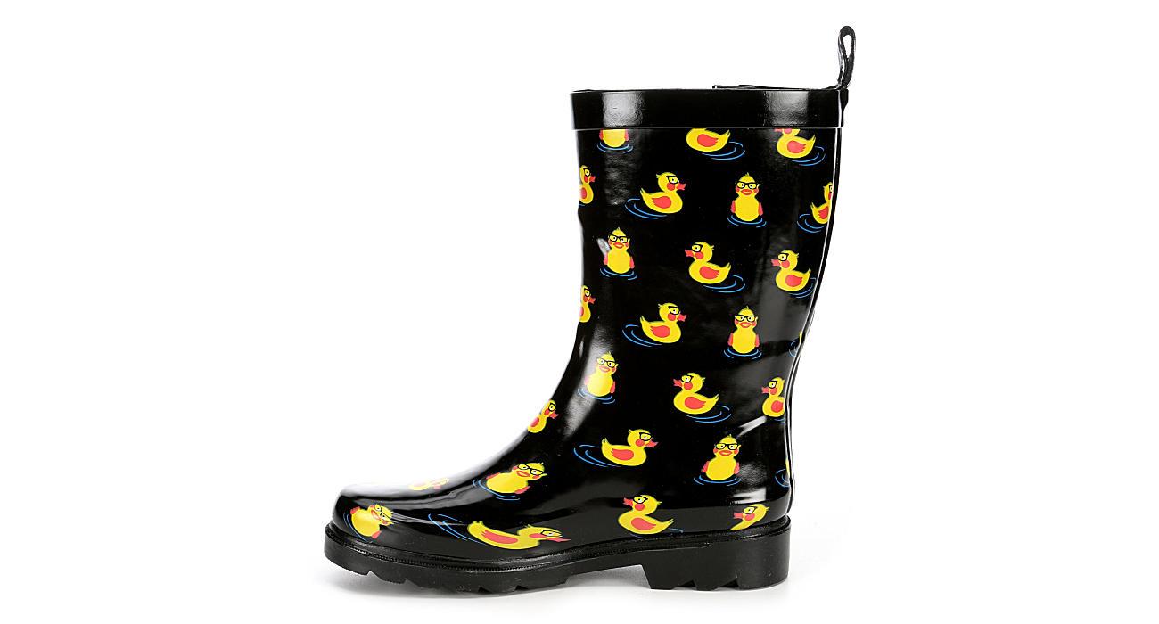 CAPELLI Womens Rubber Ducks - BLACK