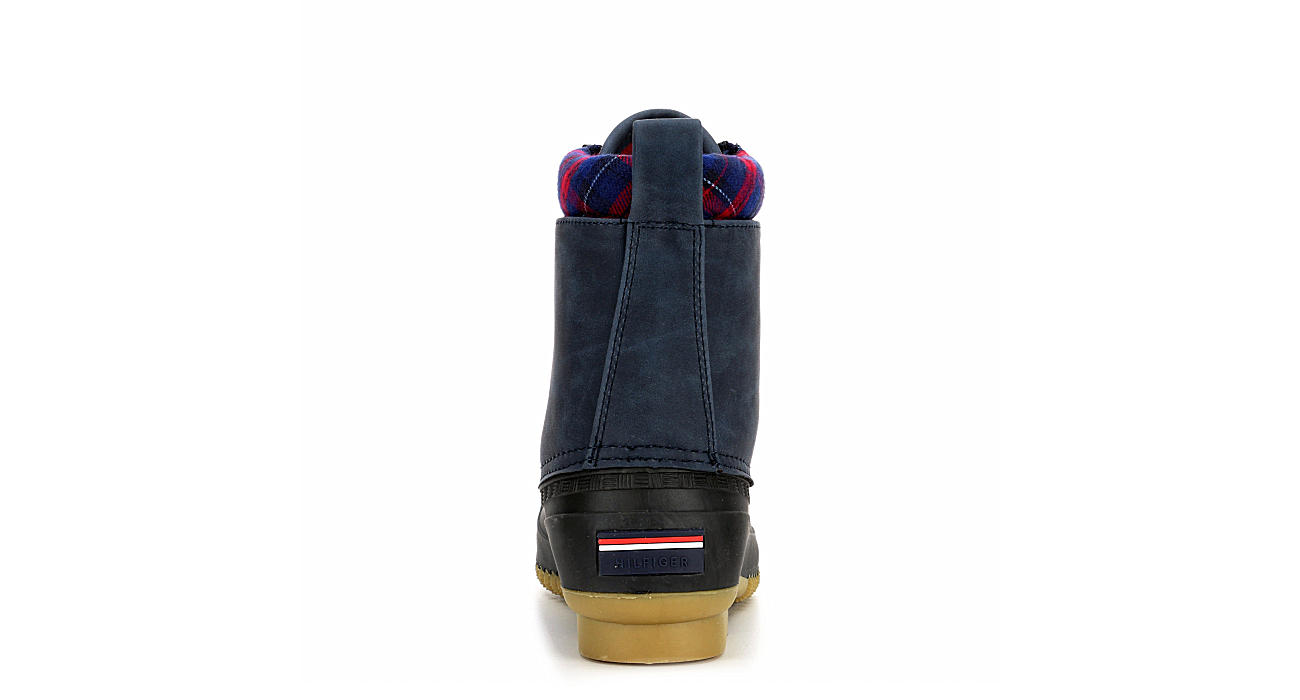 TOMMY HILFIGER Womens Russels Duck Boot - NAVY