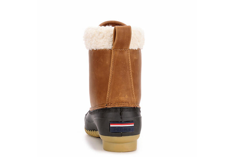 TOMMY HILFIGER Womens Russels Duck Boot - TAN
