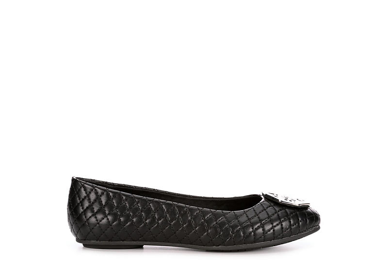 LAUREN BLAKWELL Womens Holliston Flat - BLACK