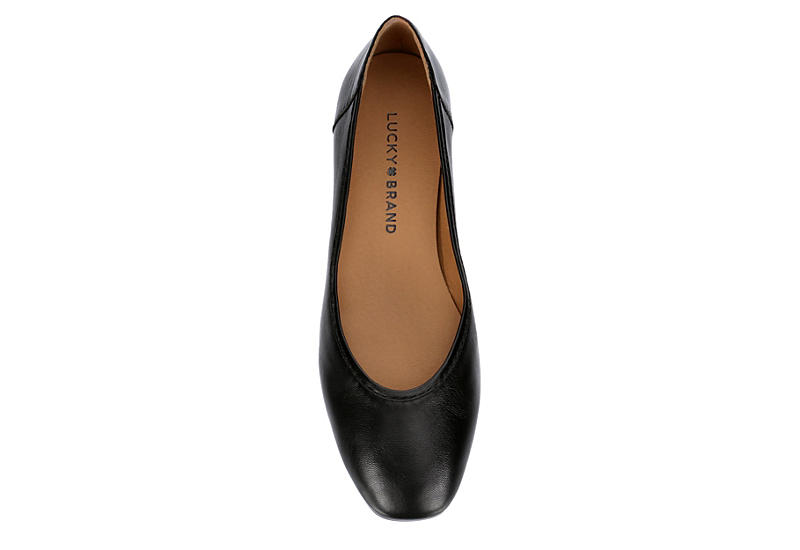 LUCKY BRAND Womens Alanya Flat - BLACK