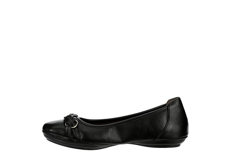 EUROSOFT Womens Sabana Flat - BLACK