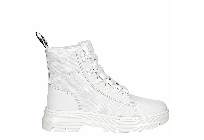 DR.MARTENS Womens Combs - WHITE