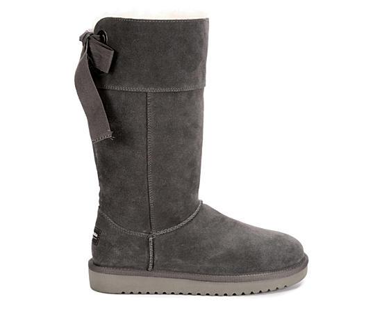 Womens Andrah Tall Fur Boot