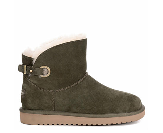 Womens Remley Mini Fur Boot