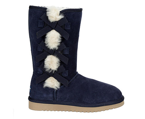 Womens Victoria Tall Fur Boot
