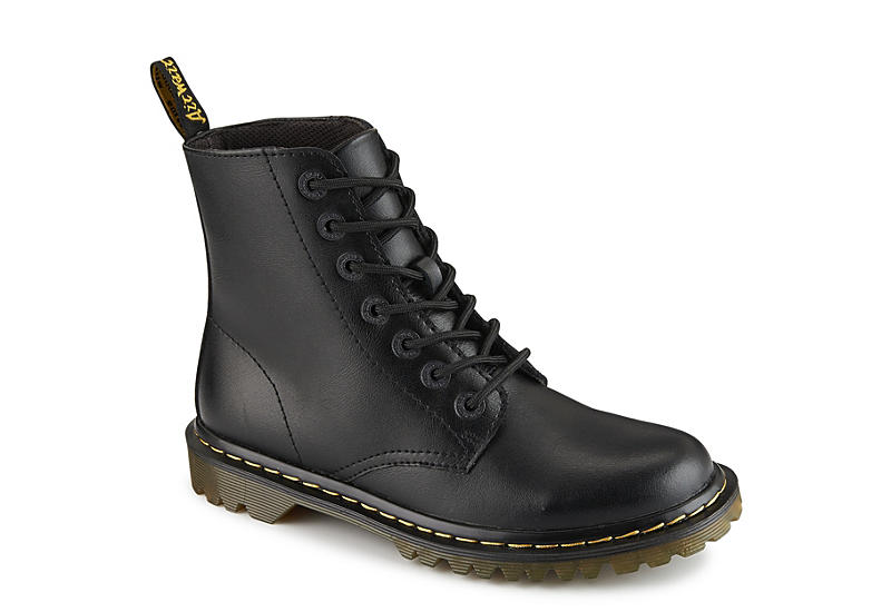 8e39f5d36 Black Dr. Martens Luana Women's Combat Boots | Rack Room Shoes