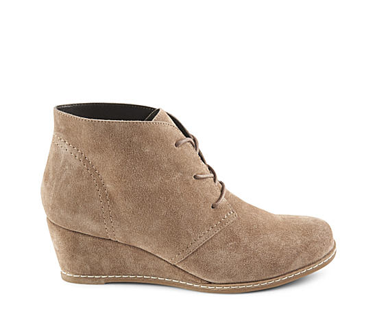 Womens Rachel Wedge Lace-up Bootie