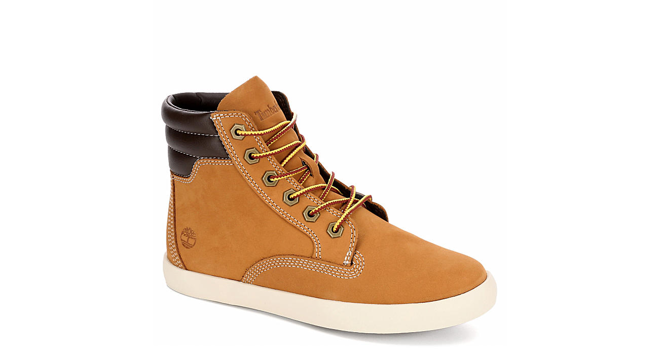 TIMBERLAND Womens Dausette Lace-up Boot - TAN