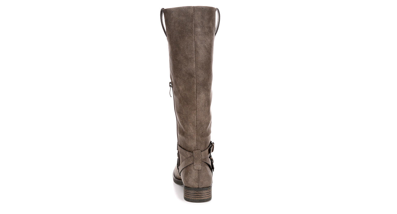 LIMELIGHT Womens Kinley Wide Calf - BROWN