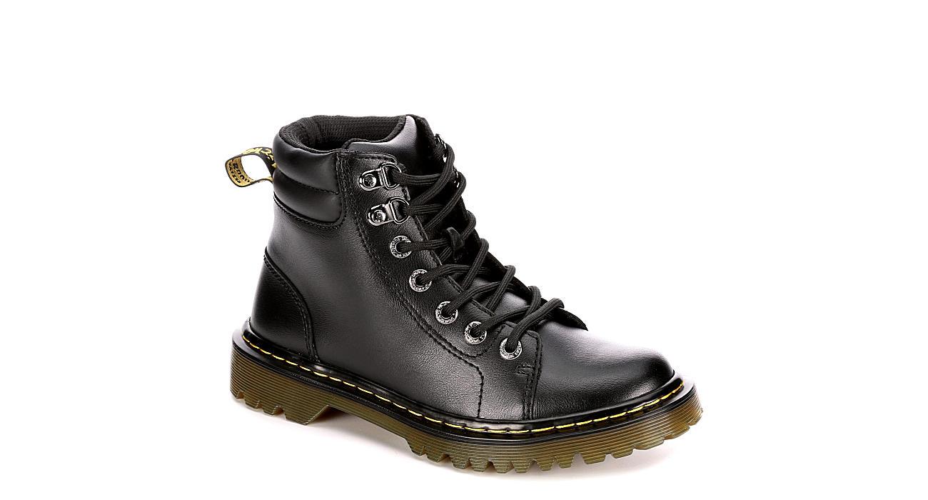 8c63bcea9fca Black Dr. Martens Faora Women s Combat Boots