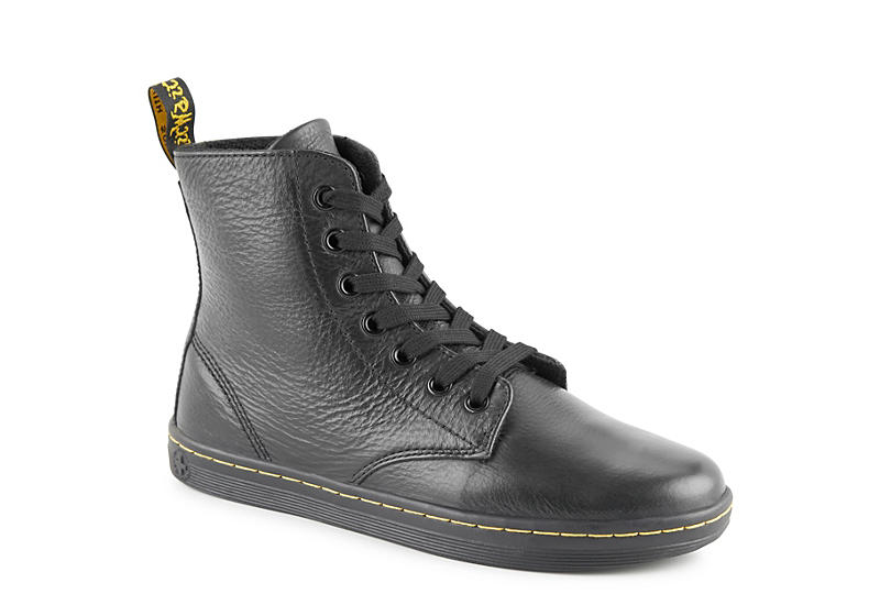 great fit superior quality top quality BLACK DR.MARTENS Womens Leyton