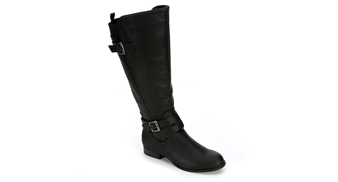 LIFESTRIDE Womens Francesca Wide Calf - BLACK