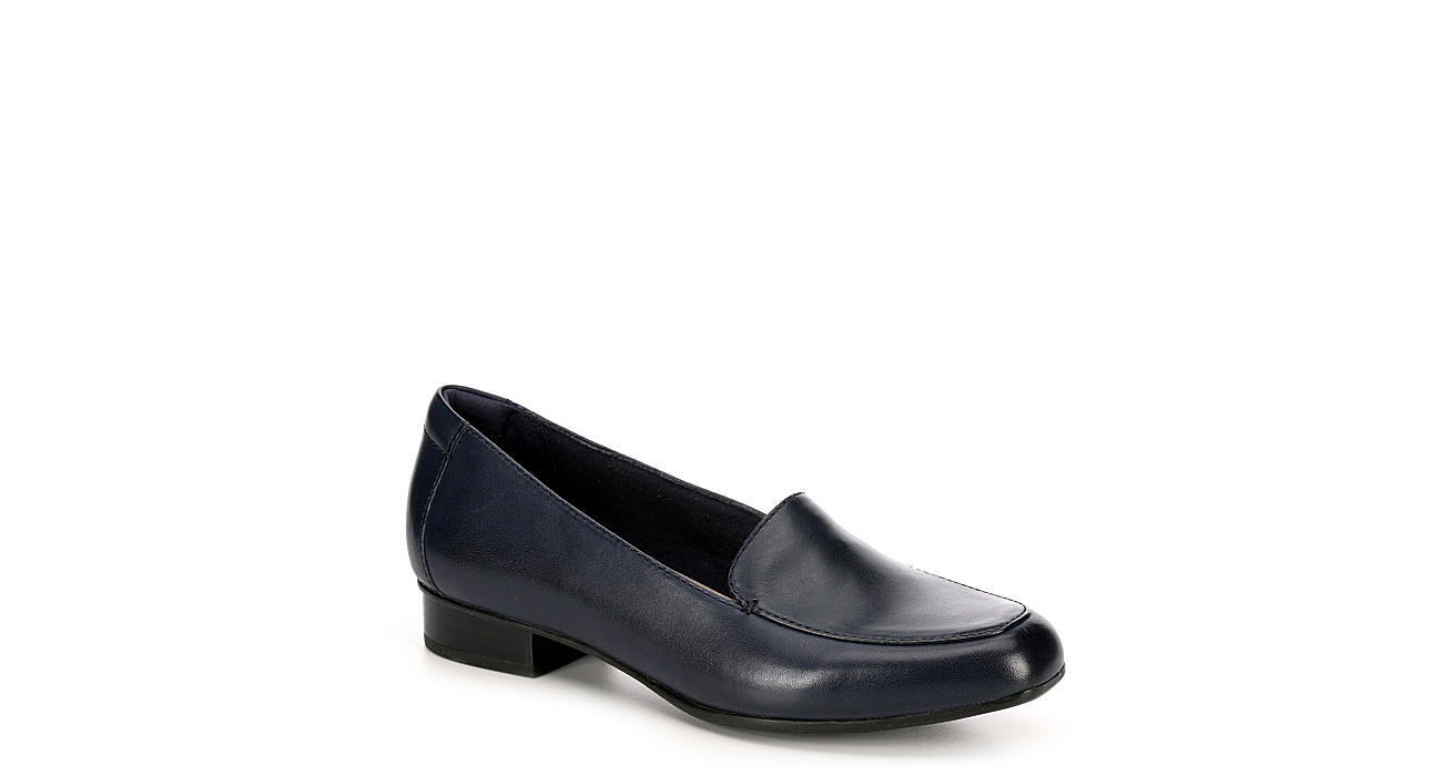 CLARKS Womens Juliet Lora - NAVY