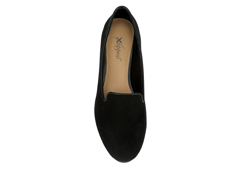 XAPPEAL Womens Rory Loafer - BLACK